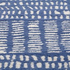 Tally Kids Area Rug (Blue) | The Land of Nod