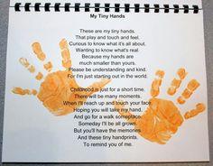 Handprint Calendar: November poem (13) | Calendar | Pinterest ...