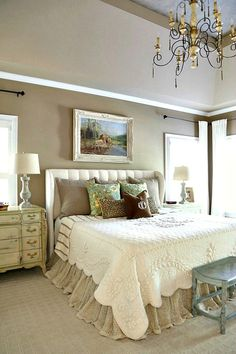 Savvy Southern Style: French Country Master Bedroom Refresh with the French Market quilt from Soft Surroundings