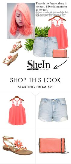 """Sweet inspiration!"" by amrafashion ❤ liked on Polyvore featuring Topshop and STELLA McCARTNEY"