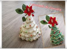 Crochet Christmas Tree Free Patterns for Holiday Decoration Office Christmas Decorations, Crochet Christmas Decorations, Crochet Christmas Trees, Christmas Crochet Patterns, Holiday Crochet, Crochet Snowflakes, Christmas Knitting, Christmas Crafts, Christmas Ornaments