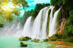romantic waterfalls   Most Romantic Heavenly waterfalls around the world