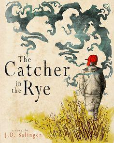 Derik Hobbs,  'Catcher in the Rye' Book Cover Redesign