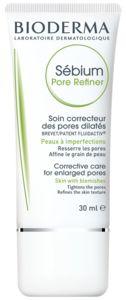 PRIMER  für normale und trockene Haut. Bioderma sebium, pore refiner  für Stirn, Nase und Kinn. Wird nach der Tagespflege vor dem Makeup als Porenverfeinerer aufgetragen.