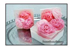Love Rose Boquet Bar (Sweet Soap Bakery)