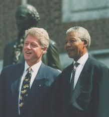 Mandela & Bill Clinton 2 of my most favorite people ever!