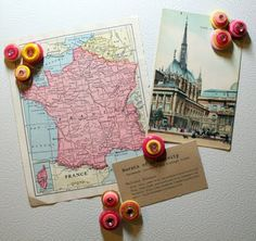 Bursts of Creativity: Thrifty Thursdays - Button Magnets