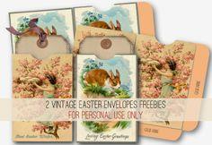 Nika in Wonderland Blog: { FREEBIES } 2 VINTAGE ASTER ENVELOPES