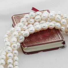 #Milky Way Jewelry - #Milky Way Jewelry Rice Cultured Freshwater Pearl Beads - AdoreWe.com