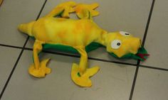 Picture of Leopold the Robotic Dancing Plush Lizard