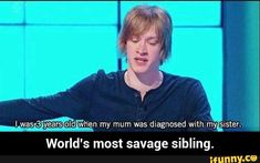 World's most savage sibling.