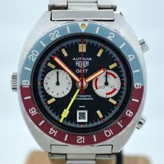 Vintage Heuer Autavia GMT 11630 Cal. 14 Automatic Steel Chronograph Wr – Bens Watches