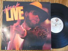 "1980's Country & Southern Rock LP Album - Hank Williams Jr ""Hank Live"" - 1987 Bocephus - VG/VG"