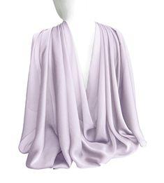 Lilac, Lavender, Spring Scarves, Wedding Shawl, Loop Scarf, Chiffon Scarf, Cotton Scarf, Floral Scarf, Womens Scarves