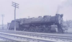 2632 sits under steam at Youngstown. N1 class locomotives were built for PRR Lines West, and were an unusual sight anywhere else on the system.
