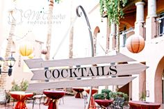 Cocktails, this way!