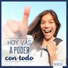 Todo es posible en la medida que tú creas que es posible! #emprende #NICE