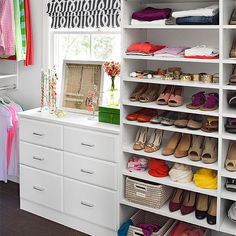 Organizing your home can be tricky, especially since it's an ongoing endeavor. Get our 9 secrets here! http://www.bhg.com/decorating/storage/organization-basics/how-to-get-organized-at-home/?socsrc=bhgpin112914socialmedia&page=9