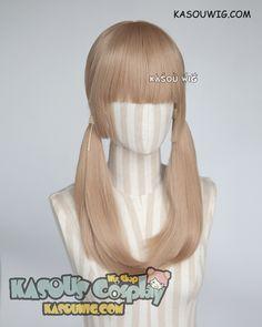 [Kasou Wig] Prince of Stride Sakurai Nana light brown pigtails cosplay wig