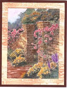 Thomas Kinkade Rose Garden by Nan Cee s - Cards and Paper Crafts at  Splitcoaststampers e1611ac0f7
