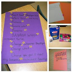 Use elbow macaroni to teach correct comma and apostrophe placement. Even upper elementary students love it!