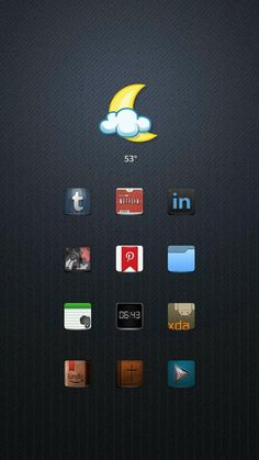 [Homepack Buzz] Check this awesome homescreen! Ron Huxley | My Homepack Smooth Home Screen