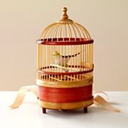 Kids Singing Bird in Cage in Decorative Accents - Land of Nod