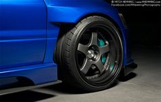 Wide-body Mitsubishi Evo 9 on SSR SP1 wheels.   Photos by Mitch Hemming Photography.
