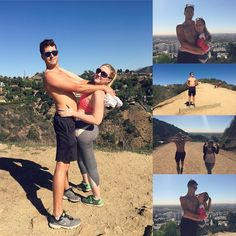 """Gregory's first LA """"hiking"""" experience   #runyoncanyon #hikingadventures #losangeleslife #liveauthentic"""