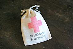 Wedding favor bags muslin 2x4. Set of 10. by ClementineWeddings