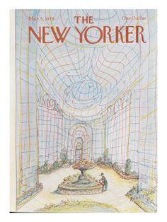 New Yorker Cover, Paul Degen illustrator, 1979.