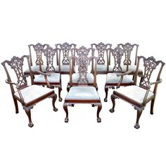 Dining room sets room set and 1940s on pinterest for Modern dining chairs ireland