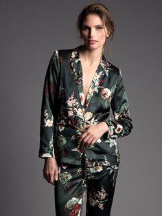 Relaxed Floral Blazer | Press Fashions Canada