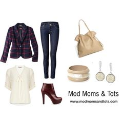 """""""Casual Friday at the Office"""" by modmomsandtots on Polyvore"""