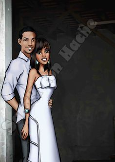 SaraH con Hache's work: Couple
