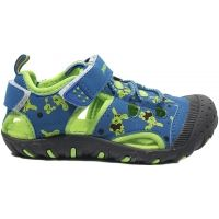 Dětské sandály Junior League BERRY se zapínáním na suchý zip jsou lehké a prodyšné. Příjemná textilní stélka poskytne potřebný komfort.