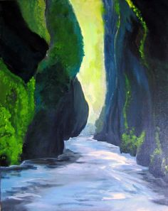 The Gorge with Happy Hour at Cerulean Winery on Sunday — Pop & Paint