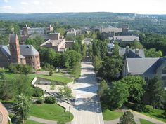Cornell University. Such a beautiful campus