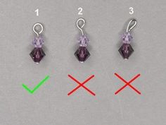 How To Make A Perfect Simple LoopFree Diy Jewelry Projects | Learn how to make jewelry - beads.us