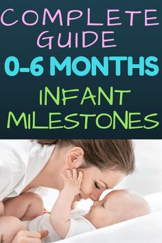 Months Baby Learning Guide: Are you wondering what infant milestones look like in your baby from newborn up to 6 months? Read all about what infant skills to expect and easy play ideas to encourage child development. No lesson plans needed! Teach you Kids And Parenting, Parenting Hacks, Baby Development, Development Milestones, Language Development, Baby Learning, Babies First Year, Baby Play, Infant Play