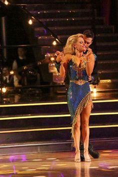 """Wk 9 James & Peta danced Rumba to """"Islands in the Stream"""" by Kenny Rogers & Dolly Parton Scored: 9+9+9+9=36"""