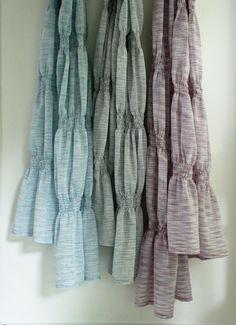 Smocked scarf sewing tutorial