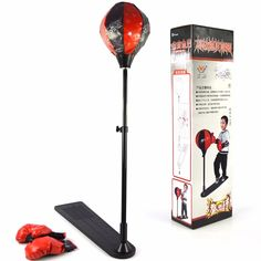 76.28$  Watch now - http://alic6o.worldwells.pw/go.php?t=32770147164 - Outdoor Children Toys Kids Boxing Tools Adjustable Boxing Gloves Kids Toys Christmas Gift