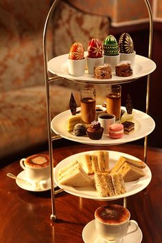 Easter afternoon tea at The Observatory Hotel