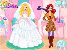 Disney Princess Barbie Wedding Accident - Disney Cartoon Games