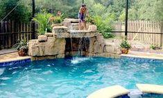 49 Best Rock Waterfall Images Dream Pools Gardens Outdoor Pool