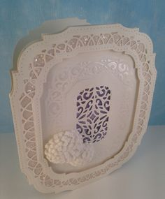 Sue Wilson - Noble - Ornate Pierced Designs & Sue Wilson - Finishing Touches Collection - Classic Foldover Flowers