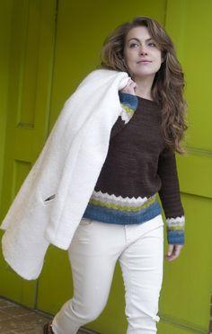 Ravelry: Kaarina Pullover by Isabell Kraemer