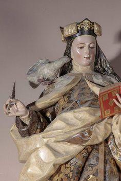 Saint Teresa Of Avila, Sainte Therese, Holi, Buddha, Statue, Art, Santos, Military Insignia, Projects
