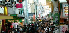 Harajuku, Tokyo's trendy shopping district